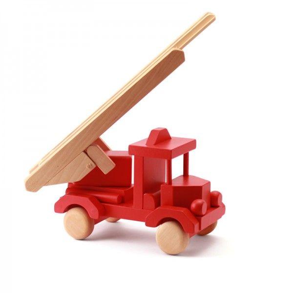 Kleine brandweerwagen