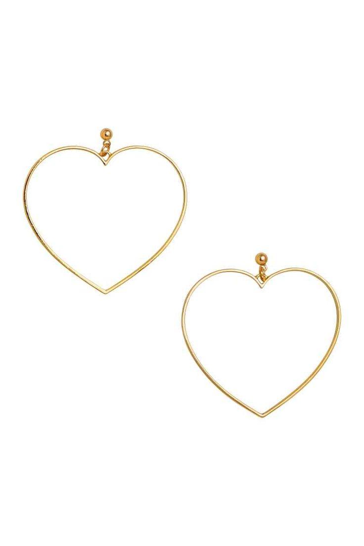 Boucles d'oreilles - Doré - FEMME | H&M FR 1
