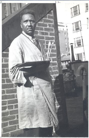 Palmer Hayden -  Born on January 15, 1890; grew up in Wide Water, Virginia; served in World War I; was a self-trained artist. Hayden was one of the first in America to depict African subjects in his paintings.