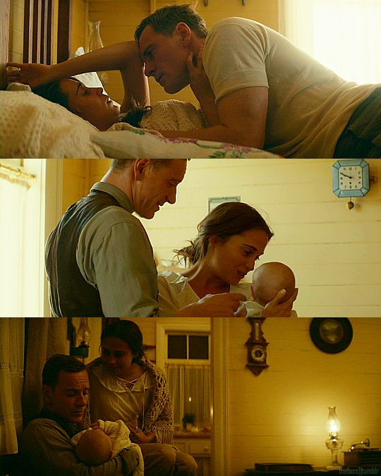 with Alicia Vikander - The Light Between Oceans (2016)