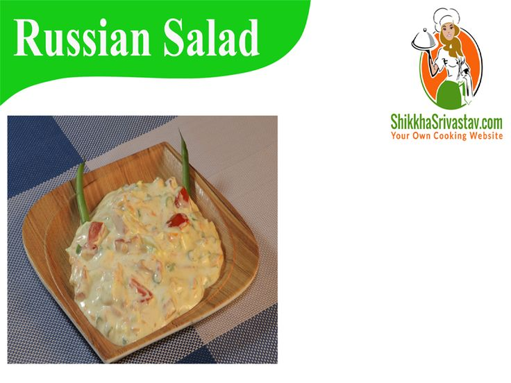 veg Russian salad Recipe in Hindi with Mayonnaise. Watch How to make Russian salad at Home in Hindi Language with step by step preparation.