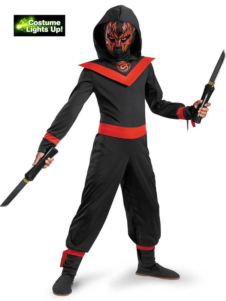 neon ninja boyu0027s costume