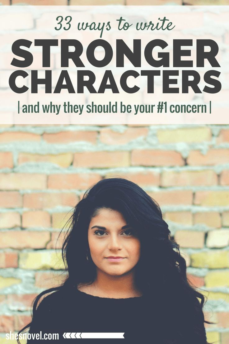 33 Ways to Write a Stronger Character || Finally a post with some great advice about what you need to know about your characters. In my opinion, you should know most of this for your side characters, as well as your MCs.