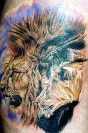 """Képtalálat a következőre: """"3d oroszlán tetoválás"""""""