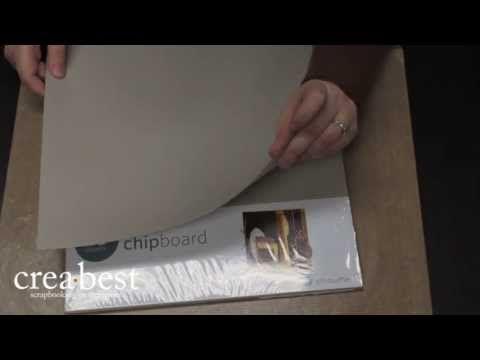 Silhouette Vrijdag: Chipboard! Video over het nieuwe Silhouette Chipboard, hoe je het snijdt, wat je ermee kunt maken en hoe je het versiert.