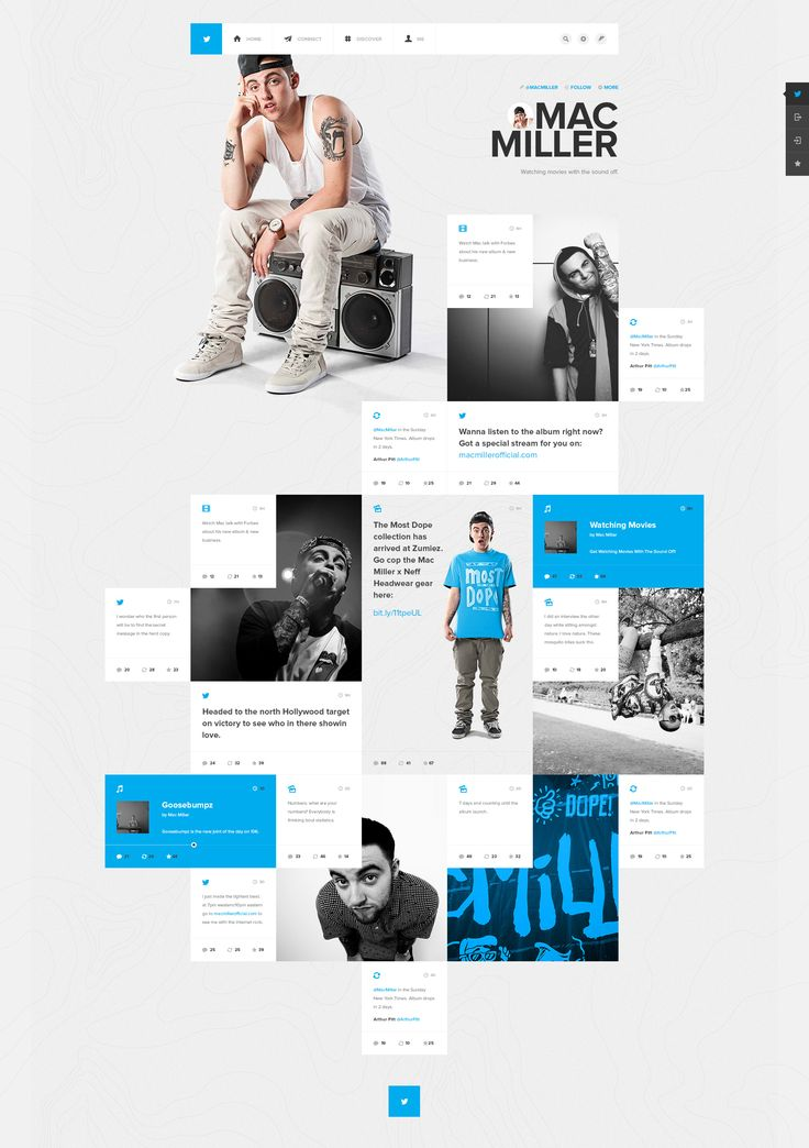 Twitter Music   Twofold Graphic & Web Design