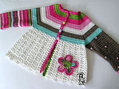 Ravelry: Flower Cardigan pattern by Vendula Maderska