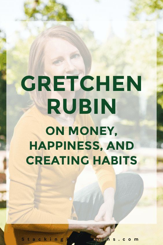 What do money, habits and happiness have to do with each other? Gretchen Rubin from the Happier podcast joins us to tackle these themes.