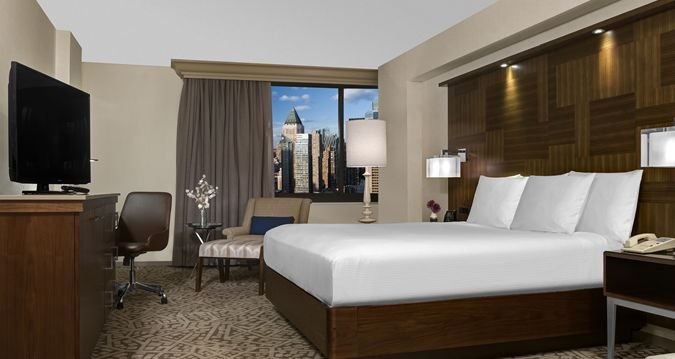 Hilton Times Square Hotel, New York, NY - New Guestrooms | NY 10036