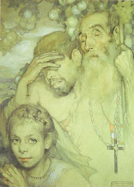Saturnino Herran, Las tres edades (The three ages), 1916