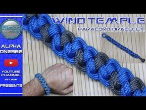 How To Make a Paracord Bracelet Wind Temple – With…
