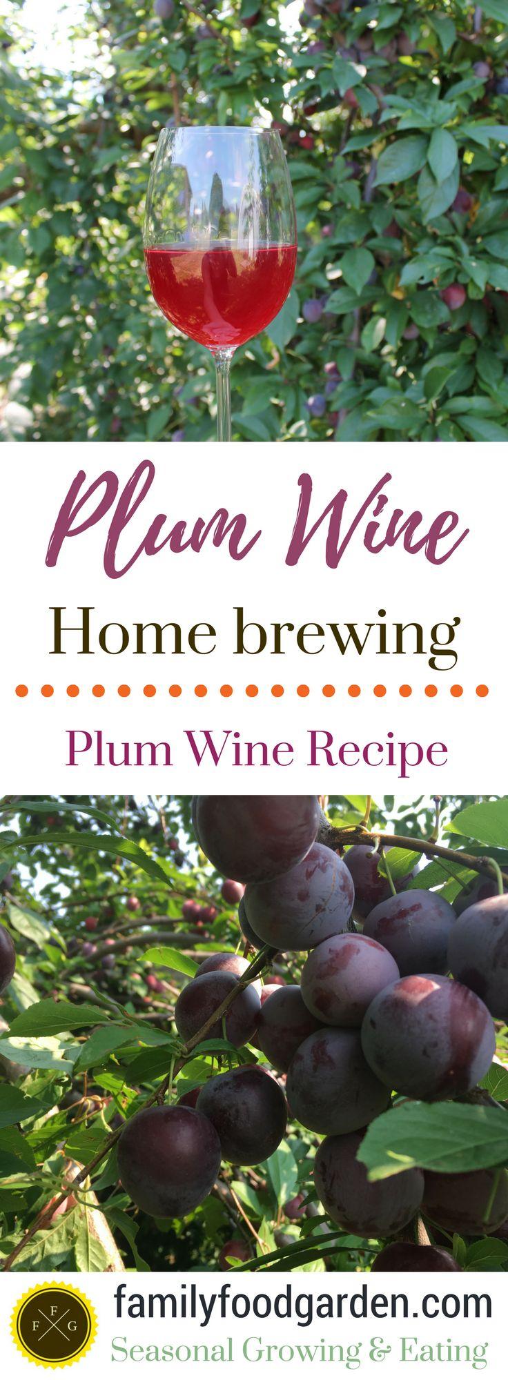How to make plum wine