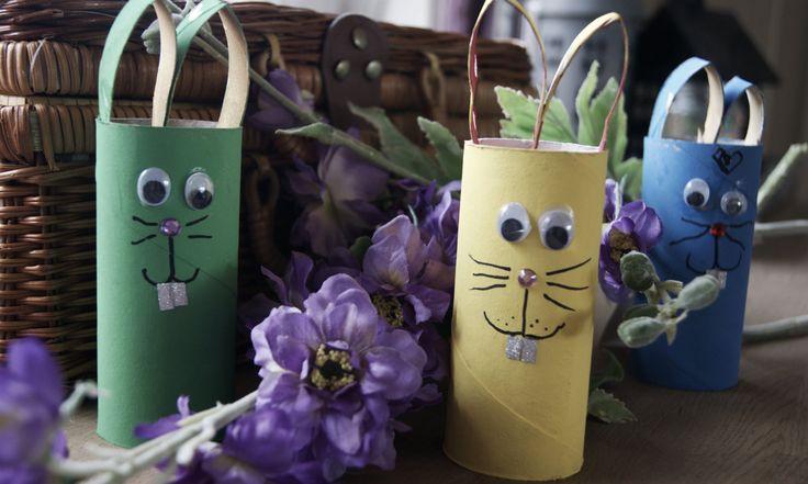 Dorullkanin er både morsomt og enkelt å lage for liten og stor. Koselig påsekpynt, dekor på barnerommet eller rett og slett bare en aktivitet på en gråværsdag.