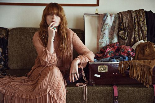Florence Welch, photographed by Zackery Michael for NME magazine, June 2015