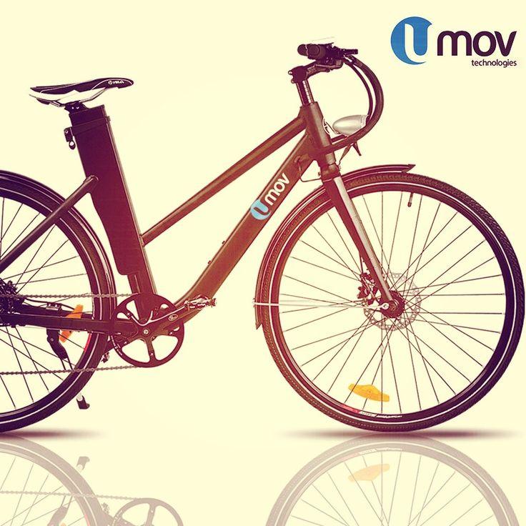 Electric bike with style!  www.umovtech.com