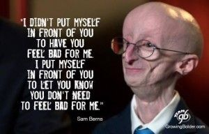 Sam Berns: Philosophy To A Happy Life #gratitude #happylife #liveinthemoment