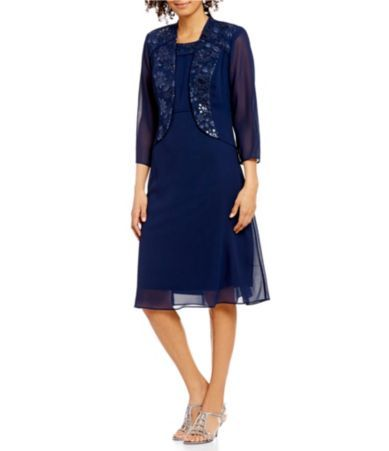Shop for Le Bos Embroidered 2-Piece Jacket Dress at Dillards.com. Visit Dillards.com to find clothing, accessories, shoes, cosmetics & more. The Style of Your Life.