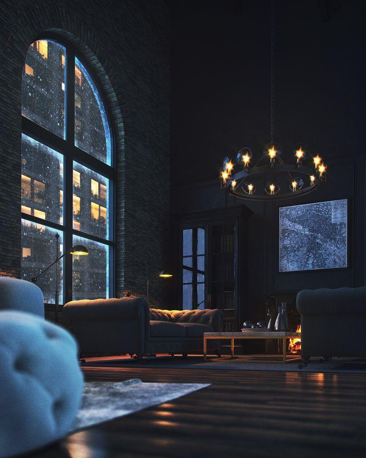 best 25 urban loft ideas on pinterest loft house studio loft apartments and loft home. Black Bedroom Furniture Sets. Home Design Ideas