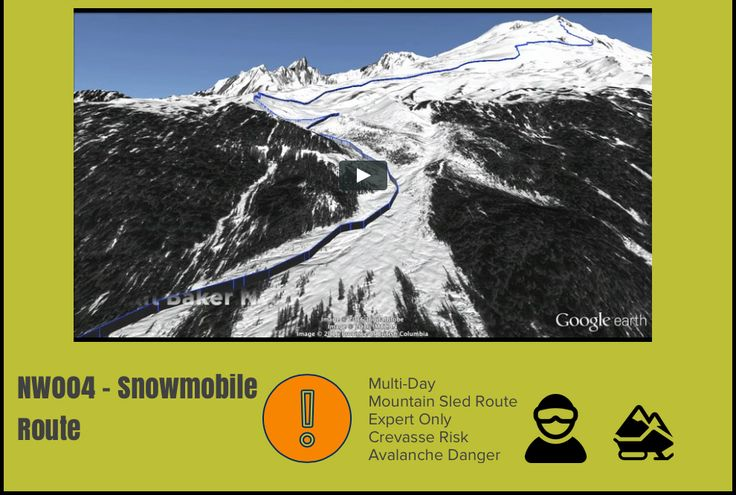Mt Baker Snowmobile