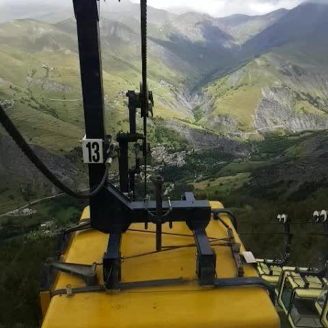 Téléphérique de la Meije | #myhautesalpes #alpes #france #mountains #montagnes #montagne #landscape #outdoors