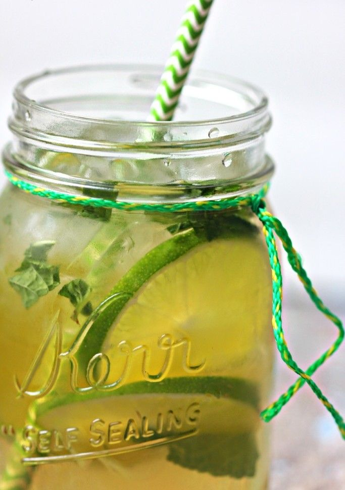 Skinny Green Tea #Detox #Recipe