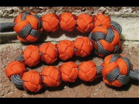 How to make a paracord bead for ranger pace bead counter - by The Paraco...