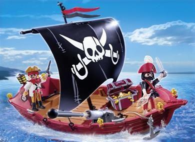 Playmobil Πειρατική Βάρκα Με Πανί (5298) 19,99