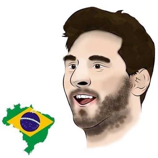 #brazil2014 #football #fuleco #fun #funny #international #joke #meme #messi #neymar #soccer #star #world cup