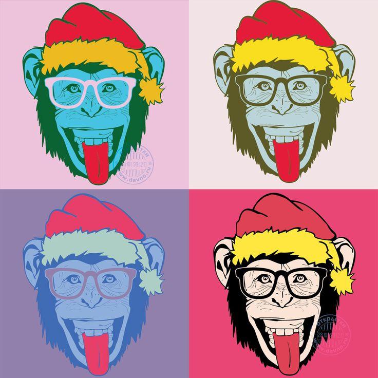 Прикольная картинка с обезьяной