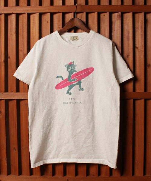 The Endless Summer(エンドレスサマー)のTES/RIDE CAT TEE(Tシャツ/カットソー)|詳細画像