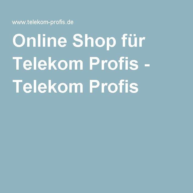 Online Shop für Telekom Profis - Telekom Profis