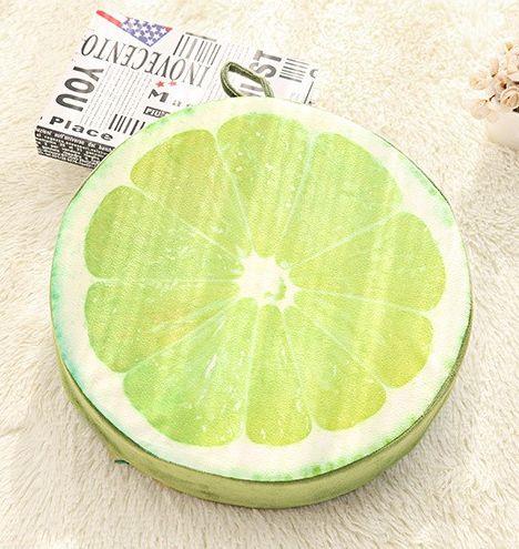 K*Waii Regalitos Frikis y Divertidos - Cojín Limón http://www.regalitolindo.cl/product/157489/cojin-limon