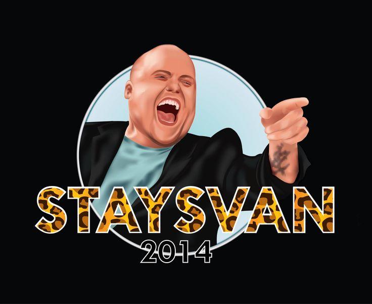Russelogo for Staysvan 2014. Ønsker du logo er det bare å ta kontakt!  mbrusselogo@outlook.com http://mbrusselogo.blogg.no https://www.facebook.com/mbrusselogo