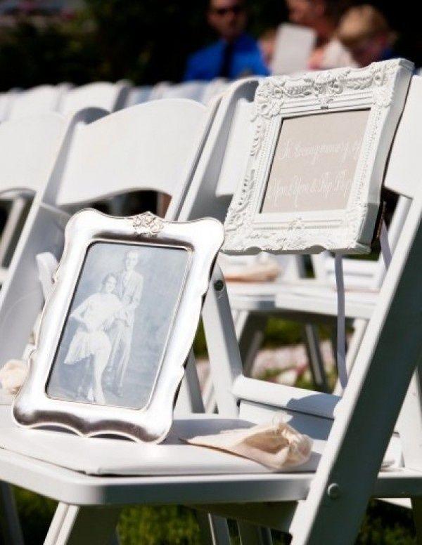 como recordar fallecidos en una boda