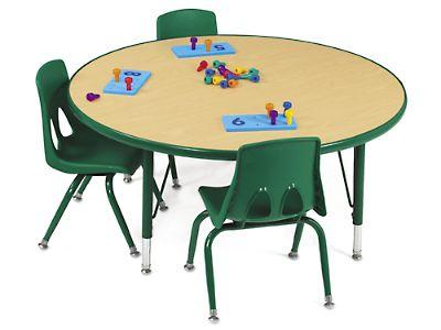 Round School Table School Table 42 Round Nongzico