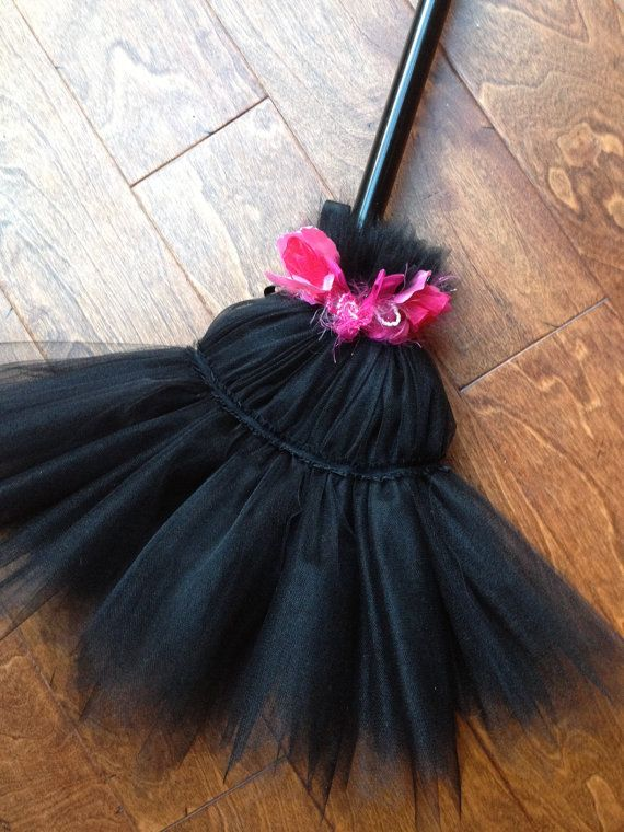 Gothic Witch Costume Broom Cover Private Listing for by EllaDynae