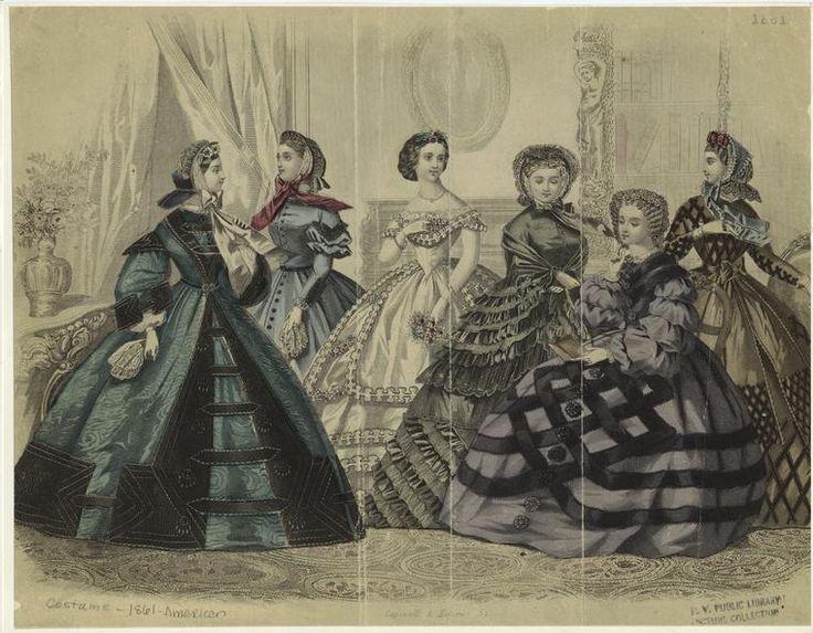 Moda: Rococó, Barroco e Era Vitoriana