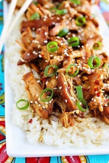 Crock Pot Honey Sesame Chicken. | RECETTES / Volailles | Pinterest