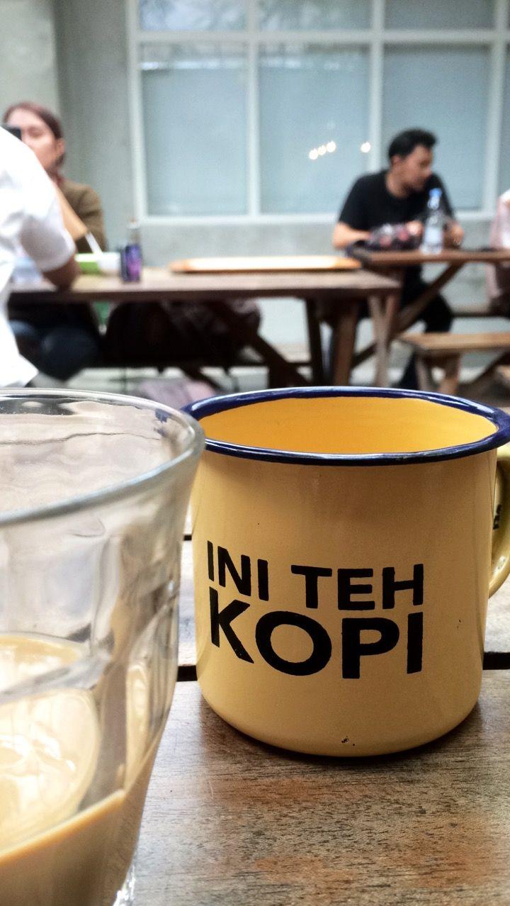 Ini teh, kopi. bandung indonesia Makanan, Kopi, Fotografi