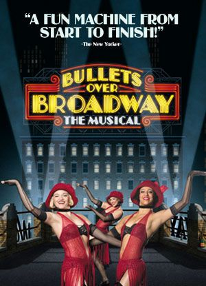 Will you be staying in one of the hotels in Hollywood this January? Then don't miss out on Bullets over Broadway that will be playing at Pantages. It's a hilarious comedy show that keep you entertained from start to finish.