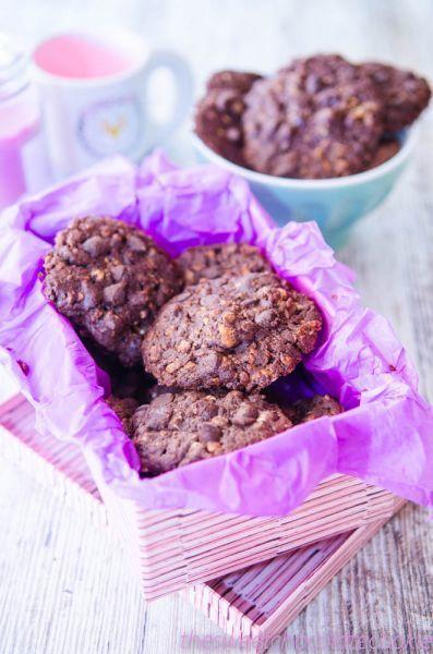 Galletas de muesli y chocolate, Receta Petitchef