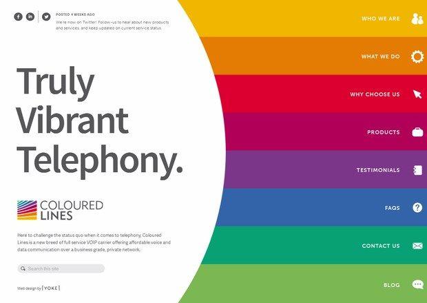 Flat web design inspiration. Tableta de colores.