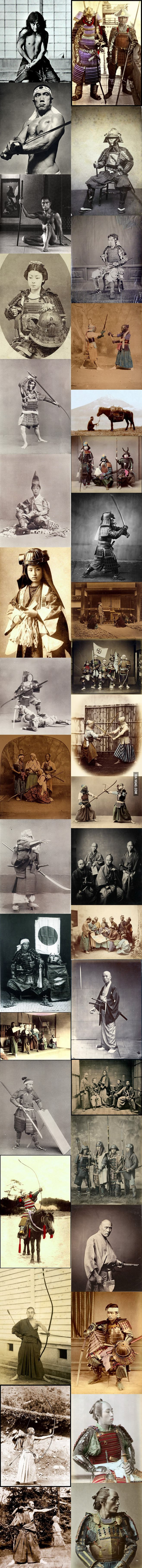 What Real Samurais Look Like