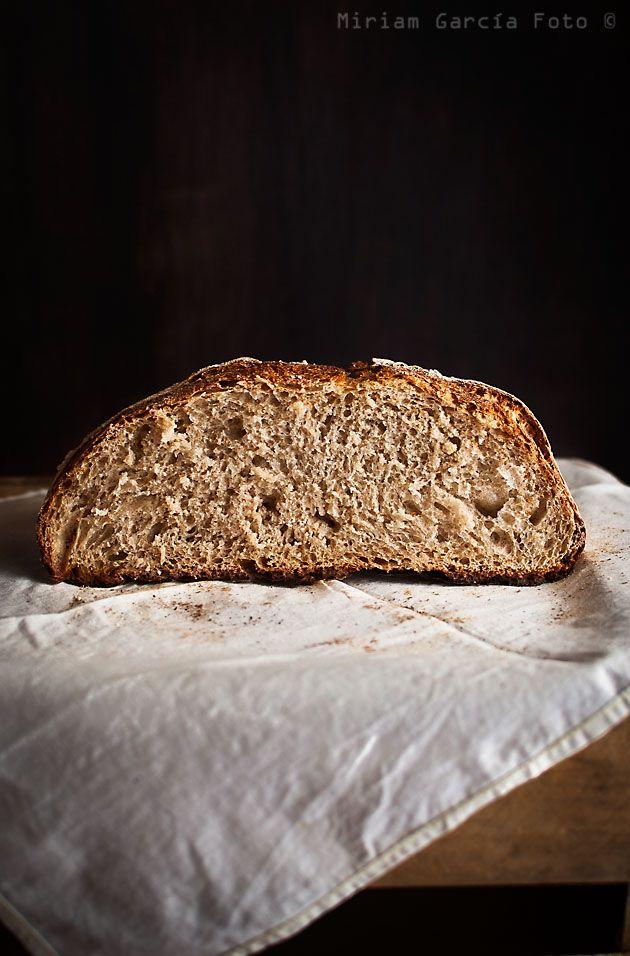 Pan de espelta, cerveza y miel | Recetas con fotos paso a paso El invitado de invierno