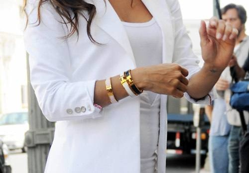 white blazerLight Pink Blazers, Hermes Bracelets, Kourtney Kardashian, White Blazers, Style, Labor Day, White Jackets, Black White, Fashion Rules