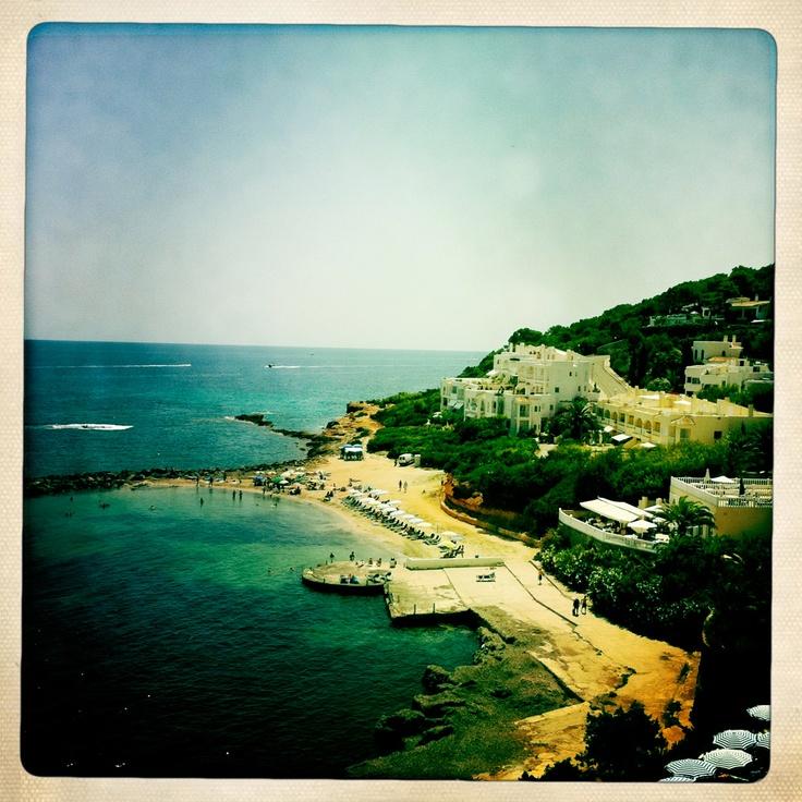I would like to go back here. Santa Eulalia - Ibiza