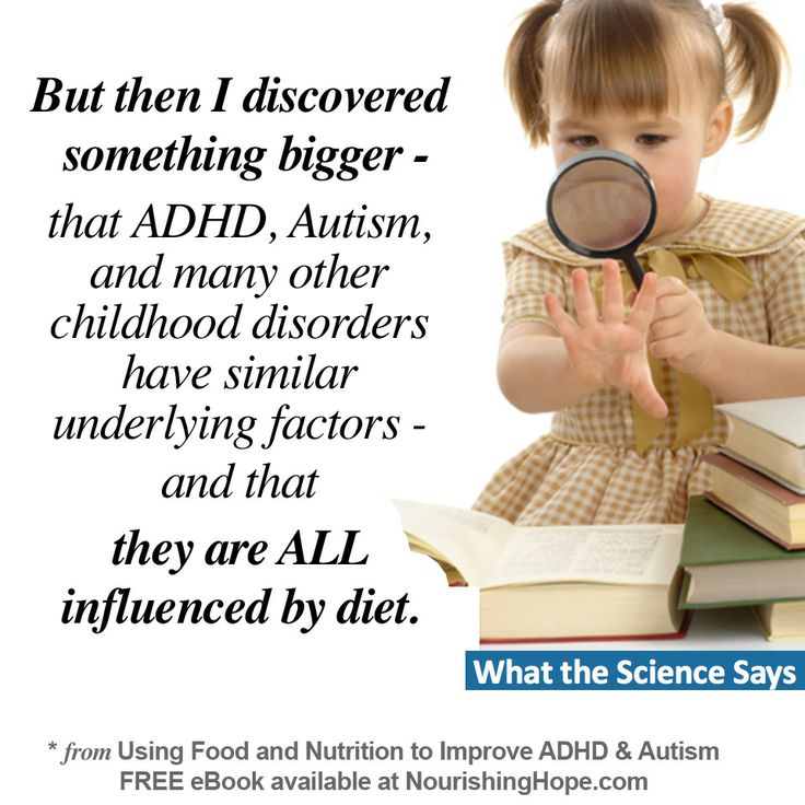 The ADHD Diet: What Works, What Doesn't