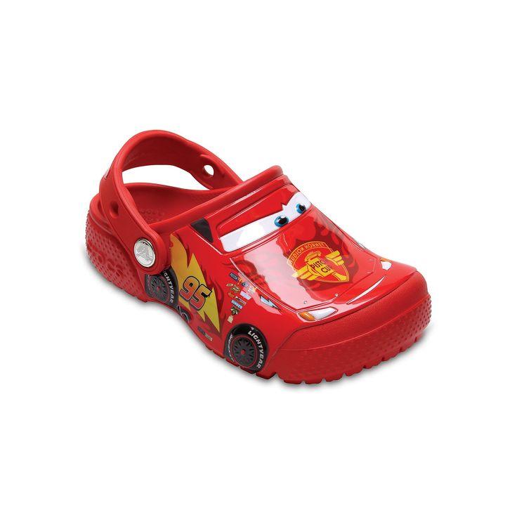 Crocs Disney / Pixar Cars Lightning McQueen Kids Clogs, Size: 10 T, Orange Oth