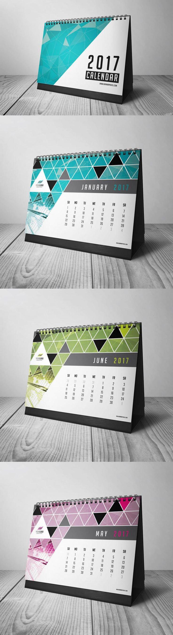 Free 2017 Calendar Print Template