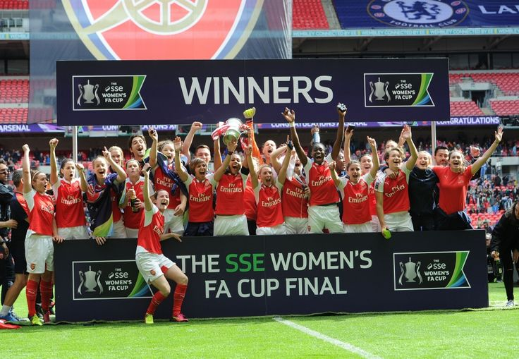 Arsenal Ladies win the FA Cup for the 14th time.